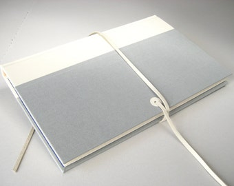White Lather Journal Sketchbook Ledger