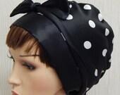 Satin head scarf, silky head covering, womens head wrap, Jewish tichel, bad hair day bonnet, satin sleep cap, natural hair headscarves