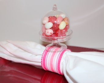 Candy Dome Napkin Rings Set of 6