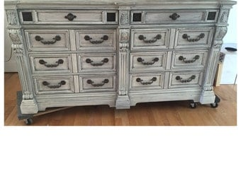 PAINT to ORDER Dresser / Tv Media Cabinet ~ ASCP ~ San Diego