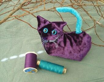 Purple Lavender Kitten, February, Amethyst Gift
