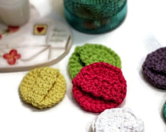 Crochet Face Scrubbies ~  Made to order