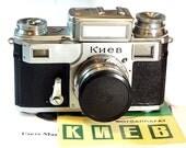 """1955 made! Antique! """"Kiev-III"""" camera USSR Contax copy"""