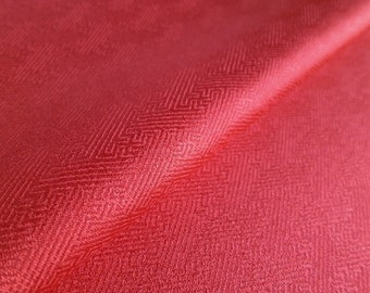 Japanese pure silk Red No.20