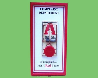 Gag gift - Complaint Department Sign