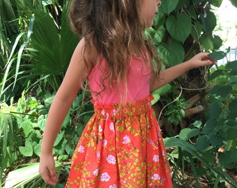 Honey Bees Toddler Girls Skirt Size 2T or 3T Ready to Ship