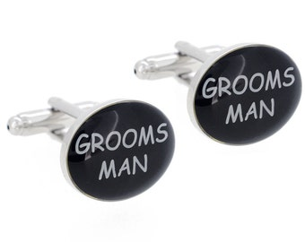 Grooms Man Wedding Cufflinks 1200458