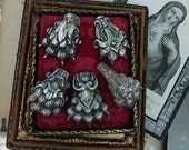 CUSTOM LISTING:  Antique French Lion Paw Charms, Talismans for the Passionate, by RusticGypsyCreations