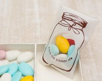 """10 candy bag """"Mason's jar"""""""