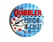 Geeky Accessories Harry Potter Pinback Buttons The Quibbler Original Design