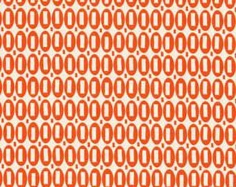 American Jane Pezzy Print tonal orange moda fabrics FQ or more