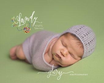 newborn photo prop, newborn bonnet wrap, bonnet wrap, newborn posing blanket, newborn swaddle wrap, wrap bonnet newborn, mohair wrap