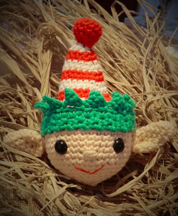 Christmas elf bauble. Festive crochet pattern pdf instant ...