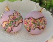 Venetian Murano Millerose Earrings
