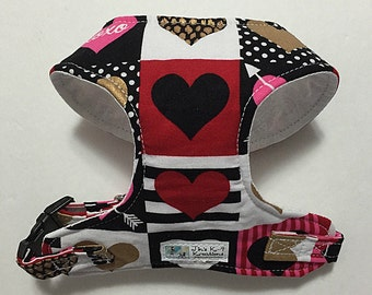 Heart Comfort Soft Dog Harness - Made to order -