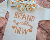 Infant Sleeper Brand Sparkling New Hospital Outfit Newborn Take Home Outfit New baby Gift Infant Sleeper Baby Outfit Baby Take Home