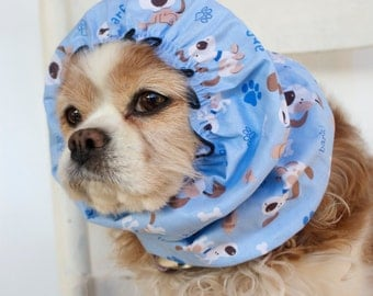 Woof Dog Snood, Cotton Long Ear Coverup, Cavalier King Charles or Cocker Snood