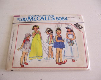 mccalls 5064 size 5 pattern