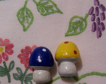two wee tiny toad stools