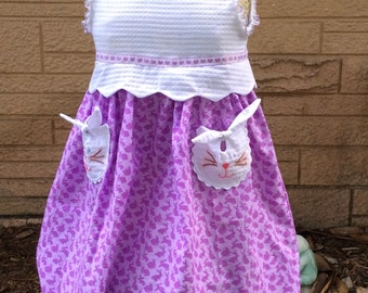 A Wonderful Bunny Easter Dress **AVAILABLE NOW**