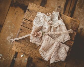 Victoria Dress Set .  Sitter sized