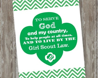 Girl Scout Printable #1