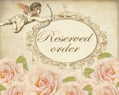 RESERVED Custom Order for AR