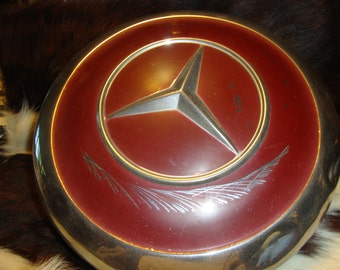 Vintage Classic Mercedes HubcapB Fits Most 1950's-70's GREAT WALL ART