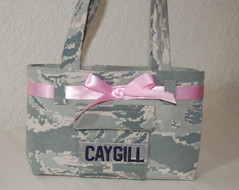 Mini Military Camo Purse for Girls