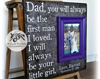 Father of the Bride Gift, Father of the Bride Frame, Parents of the Bride Gift, Mother of the Bride Gift, Parents Wedding Gift, 16x16