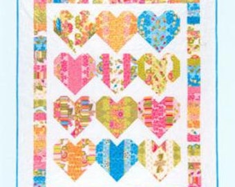 Heartstrings - Quilt Pattern by Black Mountain Patterns