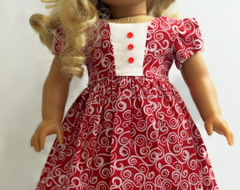 "Juliette Dress:  For 18"" Dolls Such As American Girl, My Life As (Walmart), Our Generation (Target) And Others"