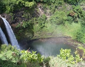 "DYED to ORDER: ""Wailua Falls"" colorway. Sock yarn, lace yarn, weaving yarn."