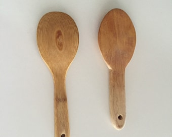 Wooden Cooking Spoons/ Wooden Utensils/Serving Spoons/Joyce Chen/ By Gatormom13