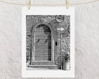 Give Me A Sign, Volterra Italy Photo print 4x6 or 5x7 or 8.5 x 11