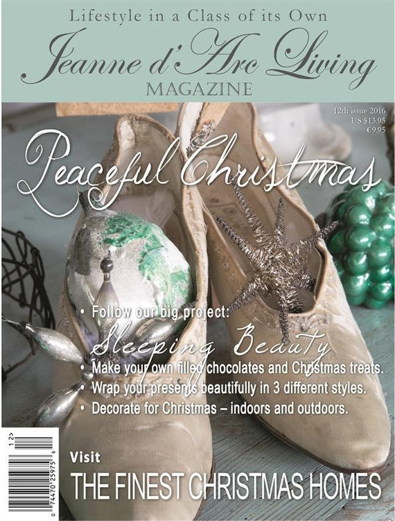 Jeanne d'Arc Living Magazine December 2016 - 12th Issue, Peaceful Christmas - Pre-Order