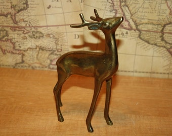 Brass Deer - item #2141
