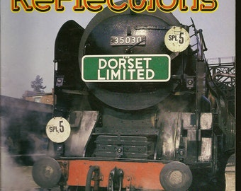 Railway Reflections May June 1983 Back Issue – British Railway Magazine – Stunning Photos Great Train Collectible