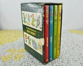 Vintage The Wonderful Worlds of Walt Disney Boxed Set  1963 Golden Press  Set of Four Hardback