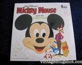 SEALED 1968 Walt Disney Mickey Mouse and His friends Vintage Vinyl lp Disneyland Records 1321 Album