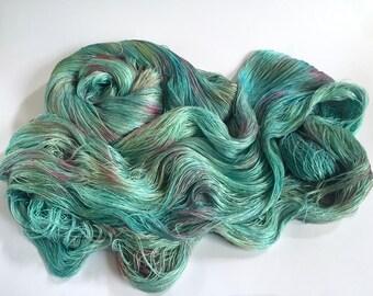 Ameratsu Pure Silk Cobweb Lace.  Far Horizon