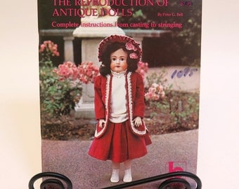 The Reproduction of Antique Dolls Book