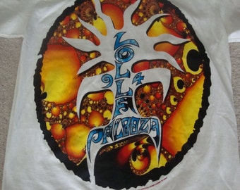 Vintage 90's  1994 Lollapalooza Smashing Pumpkins Beastie Boys Breeders A Tribe Called Quest L7 Green Day Concert Tour T Shirt L