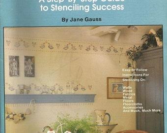 """Plaid Enterprises Inc.  """"The Complete Stenciler Book"""""""