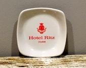 Hotel Ritz Tip Tray, Hotel Ritz Paris Tray, Ritz Hotel Paris, Tip Tray, Wade England
