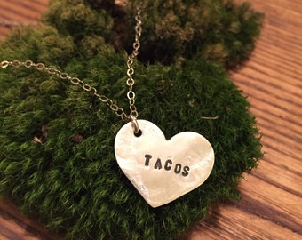 All of the Tacos Necklace