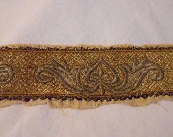 Antique Uzbek Bukhara Wedding Headband