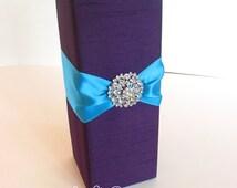 Sparklers Box, Sparklers Holder, Flower Box, Centerpiece Box, Wine Bottle Holder, Custom Made