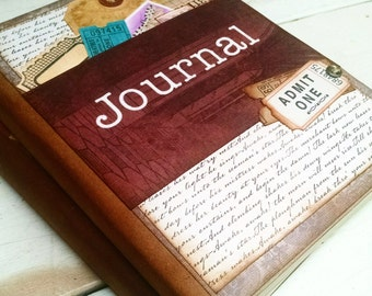 Journal Notebook Diary Life Story Sketchbook Art Journal