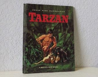 Edgar Rice Burrough's Tarzan - A Big Golden Book 1964 by Gina Ingoglia Weiner